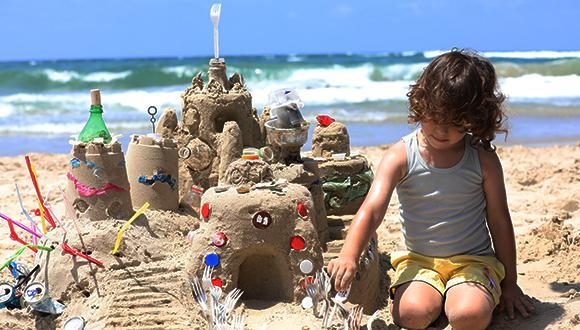 מתוך קמפיין חוף נקי של המשרד להגנת הסביבה