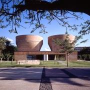 """בית הכנסת והמרכז למורשת היהדות ע""""ש צימבליסטה (צילום: Pino Musi)"""